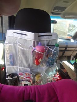 Simple Diy Back Seat Organizer No Sewing Involved Travel
